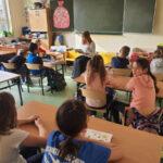 Jak powstrzymać szkolnych dręczycieli i czym jest psychoterapia – na te tematy psycholog rozmawiała z dziećmi z klasy 1d i 2d.